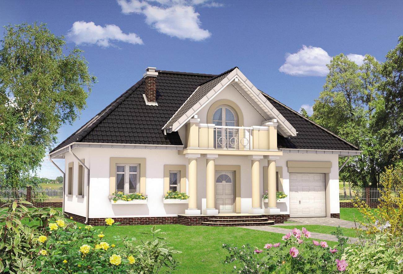 Восхитительный загородный жилой дом площадью 120 м2.