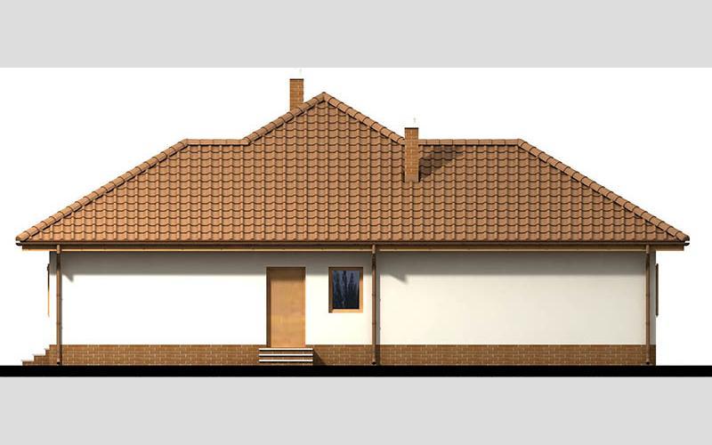 projekt domu SZAFRAN PS el prawa
